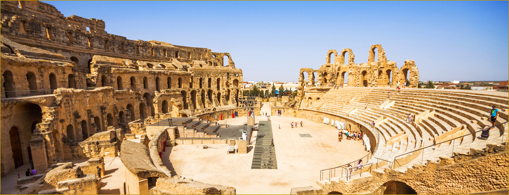UNESCO World Heritage Site, Amphitheatre of El Jem