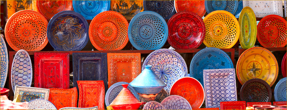 Tunisian Souq items