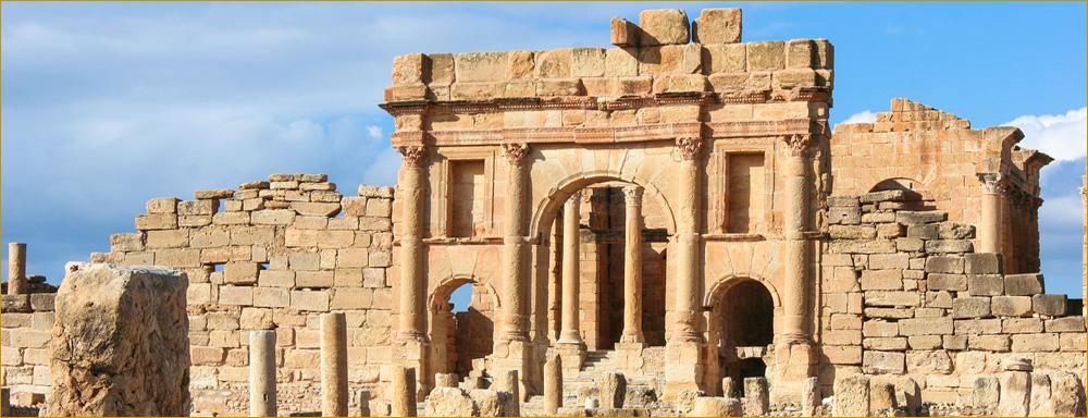 Roman ruins of Sbeitla